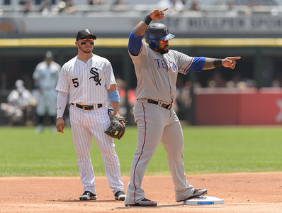 MLB Texas Rangers at Chicago White Sox June 21, 2015