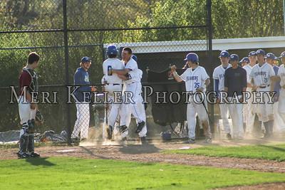 MHS Baseball JV vs East Greenwich 2015
