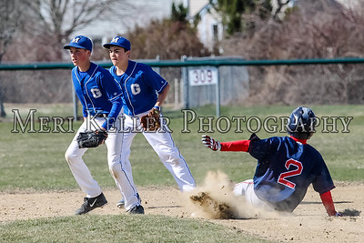 Gaudet Baseball vs PMS 2015
