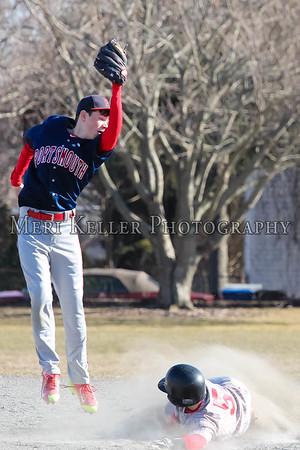 Thompson vs. Portsmouth Middle School Baseball 2015