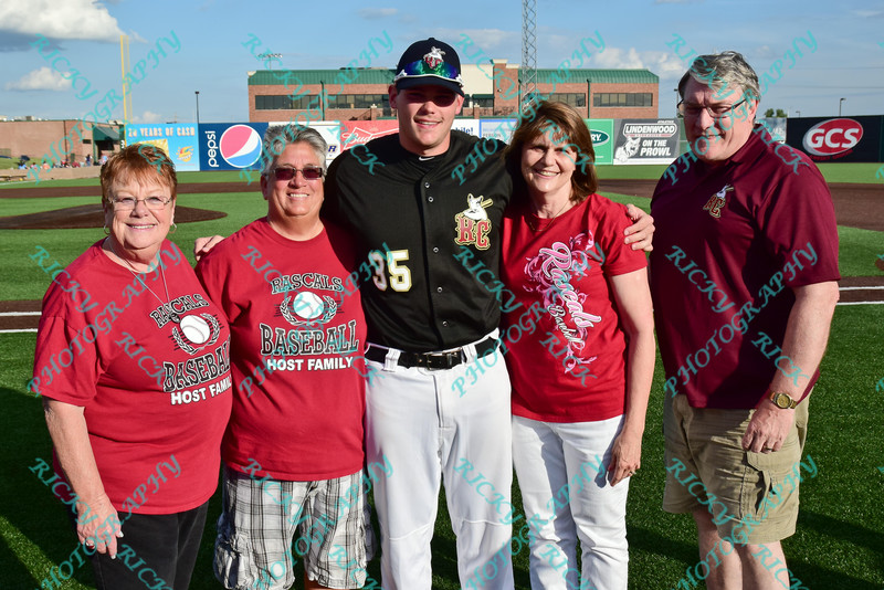 2014 Frontier League All-Star game played 7/16/14