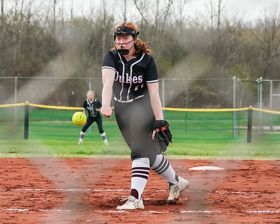 Wellington Rianna Rosecrans delivers a pitch against Brookside Wednesday April 17.  photo Joe Colon