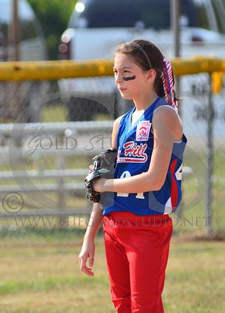 Rock Hill vs Coal Grove Girls 9-10 Allstars 7-11-2012