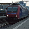 SBB Cargo Int 482018-9 heading E towards Olten LE. Pratteln 10/10/16