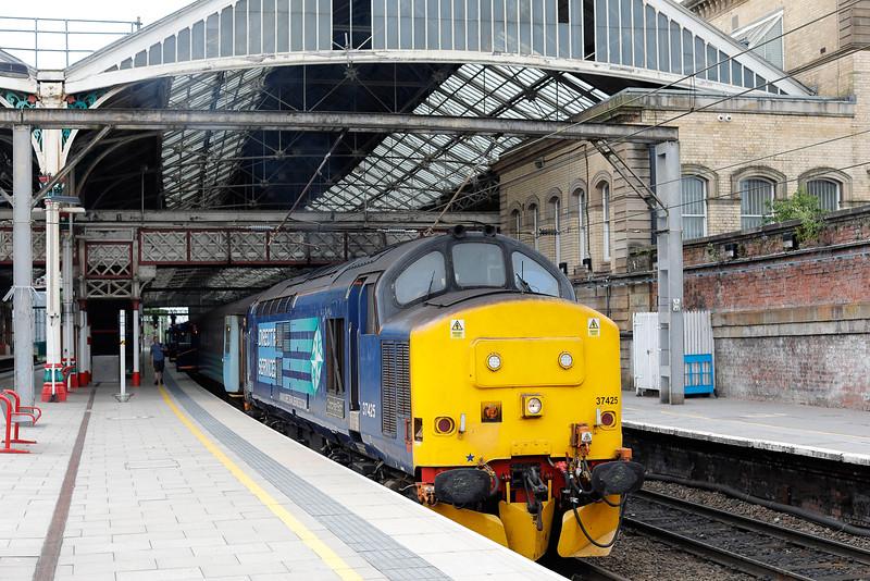 37425, waits at Preston with 2C47 10.04 Preston-Barrow