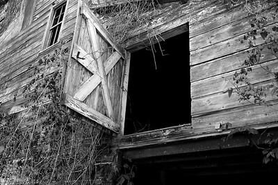 dsc_8642 open barn door bw