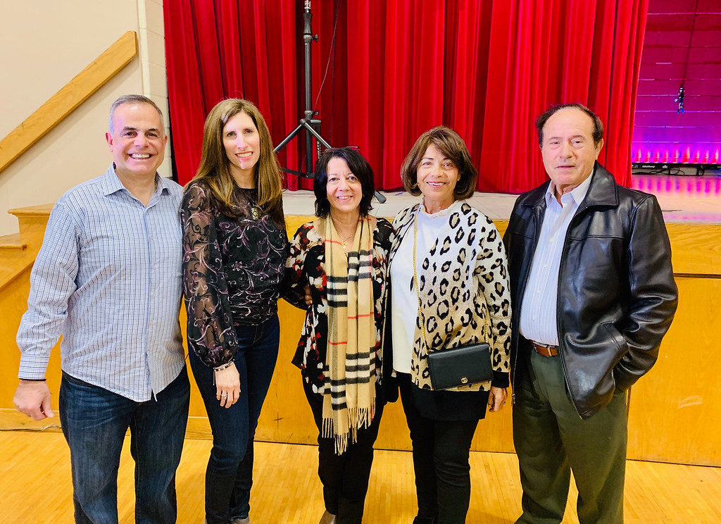 . From left, John and Joanne Grillakis of Lowell, Thea Karahalios of Andover, and Despena and Dimitrios Matheos of Lowell