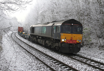 66418 Basingstoke 12/12/12 4M61 Southampton to Trafford Park