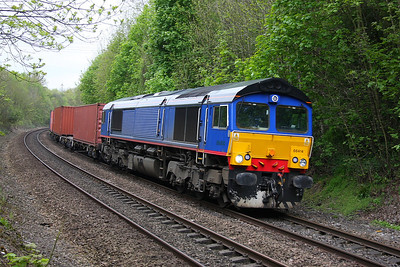 66414 Basingstoke 04/05/12 4M68 Southampton to Birch Coppice