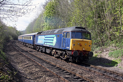 47841 Basingstoke 22/04/12 5Z73 Eastleigh to Crewe ecs