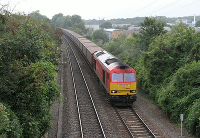 60059 Basingstoke 27/08/14 6O42 Halewood to Southampton Eastern Docks