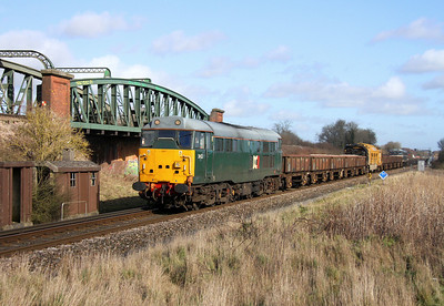 31452 Battledown 16/02/14 6Z41 Feltham to Totton