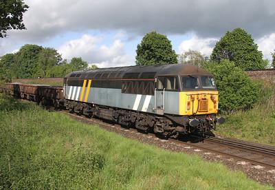 56301 Battledown 25/05/14 on the rear of 6Z41 Ashtead to Eastleigh