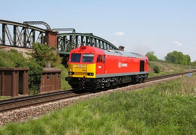 60015 Battledown 28/05/12 0Z60 Toton to Eastleigh
