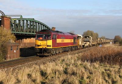 60045 Battledown 18/12/12 6O26 Hinksey to Eastleigh