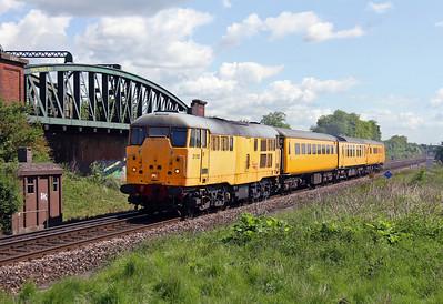 31105 Battledown 02/06/13 3Z37 Acton Wells Junction to Eastleigh
