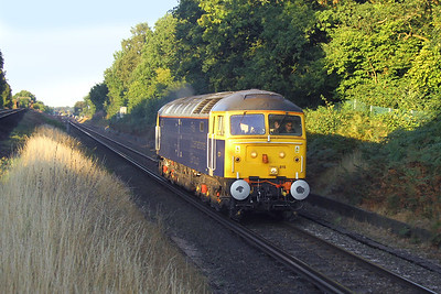 47815 Oakley 30/08/16 0O42 Ely Papworth Sidings to Eastleigh
