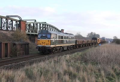 31190 Battledown 02/02/14 6Z41 Egham to Eastleigh