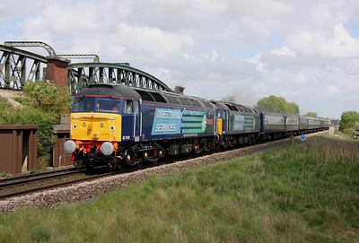 47810 Battledown 09/05/11 1Z49 Glasgow to Southampton with 47501