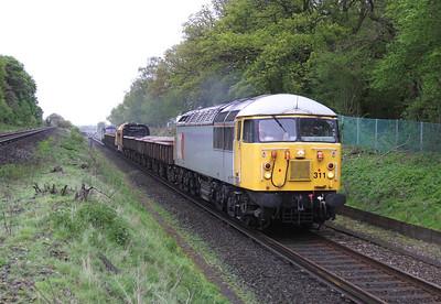 56311 Oakley 11/05/14 6Z41 Surbiton to Eastleigh