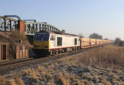 60099 Battledown 14/03/13 6Z15 Warrington to Eastleigh
