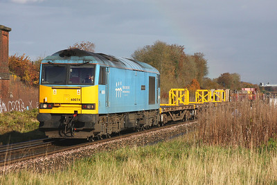 60074 Battledown 06/11/10 6O26 10.19 Hinksey to Eastleigh