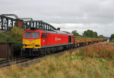 60011 Battledown 26/09/12 6O26 Hinksey to Eastleigh