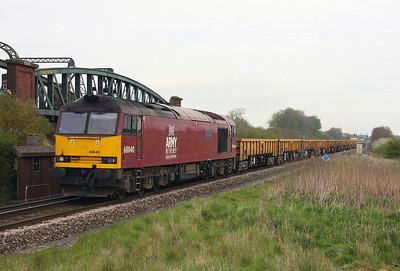 60040 Battledown 15/04/11 6O26 10.19 Hinksey to Eastleigh