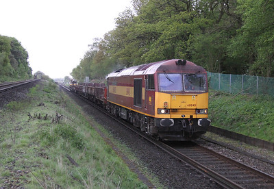 60045 Oakley 11/05/14 6N07 New Malden to Eastleigh