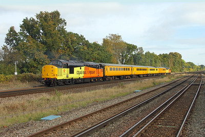 37116 Hook 27/10/16 on the rear of 1Q54 Eastleigh to Tonbridge
