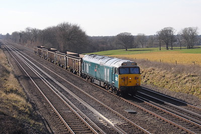 50008 Potbridge 21/03/18 6Z51 Eastleigh to Willesden