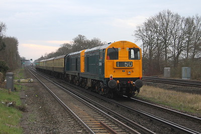 20189 Hook 07/04/18 on the rear of 5Z19 Eastleigh to Victoria