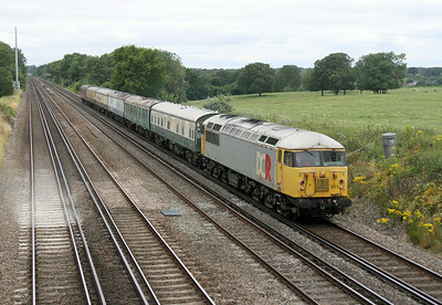 56311 Potbridge 16/07/14 5Z56 Eastleigh to Wolverton (the train only made it as far as Acton)