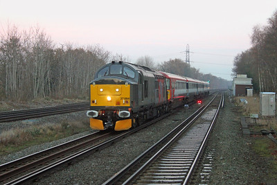 37884 Winchfield 05/12/16 5O86 Three Bridges to Eastleigh with 2417