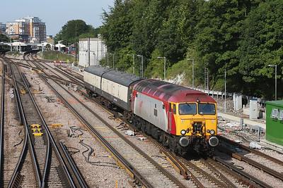 57311 Basingstoke 19/08/09 5S57 Eastleigh to Springburn Works