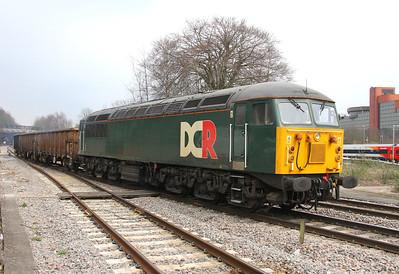 56303 Basingstoke 08/04/13 6Z56 Derby to Eastleigh