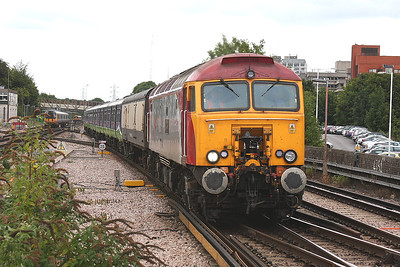 57311 Basingstoke 18/08/09 5O21 09.51 Bletchley to Eastleigh RC with 321419/420
