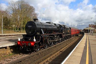 45212 Basingstoke 08/03/18 1Z16 Horsham to Yeovil Junction