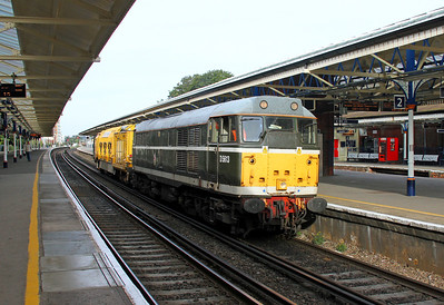 31190 Basingstoke 01/09/13 6Z32 Surbiton to Barrow Hill