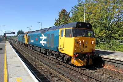 50049 Basingstoke 24/09/18 0Z50 Eastleigh to Tyseley with 50007