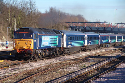 47790 Basingstoke 11/12/07 1Z92 London Victoria to Fareham 'Sussex Carol Charter'