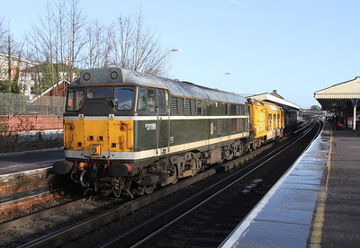 31190 Basingstoke 20/12/13 on the rear of 6Z42 Totton Yard to Derby Etches Park