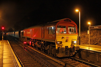 59206 Botley 26/01/12 having arrived with the 7O44 loaded stone from Westbury