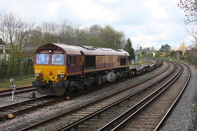 66193 Totton 11/04/12 6V38 Marchwood to Didcot