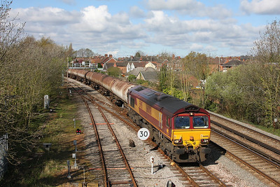 66008 Totton 11/04/12 6Y32 Fawley to Holybourne