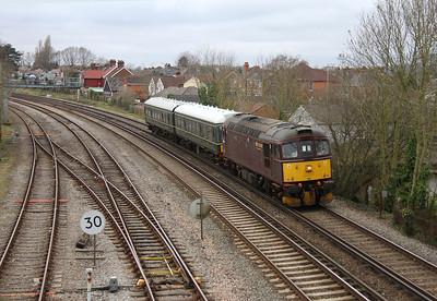 33207 Totton 06/03/14 5Z33 Swanage to Eastleigh with 108 (54504 and 51933)