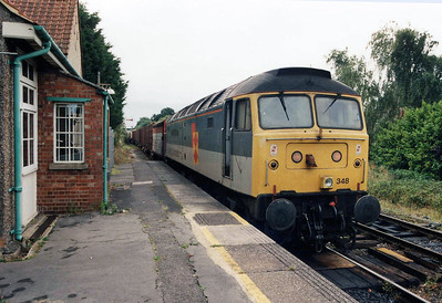 47348 Marchwood 21/08/98 preparing to depart back to Eastleigh