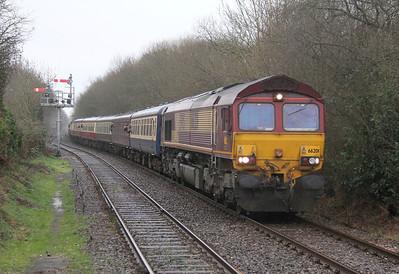 66201 Marchwood 28/12/12 1Z64 Fawley to Hamworthy