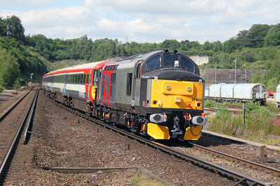 37800 Micheldever 05/07/16 5Q42 Three Bridges to Eastleigh with 2418 and 2415