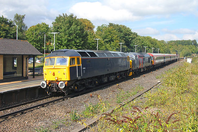 47812 Micheldever 04/10/16 5O86 Ely Papworth Sidings to Eastleigh with 37884 and 442423